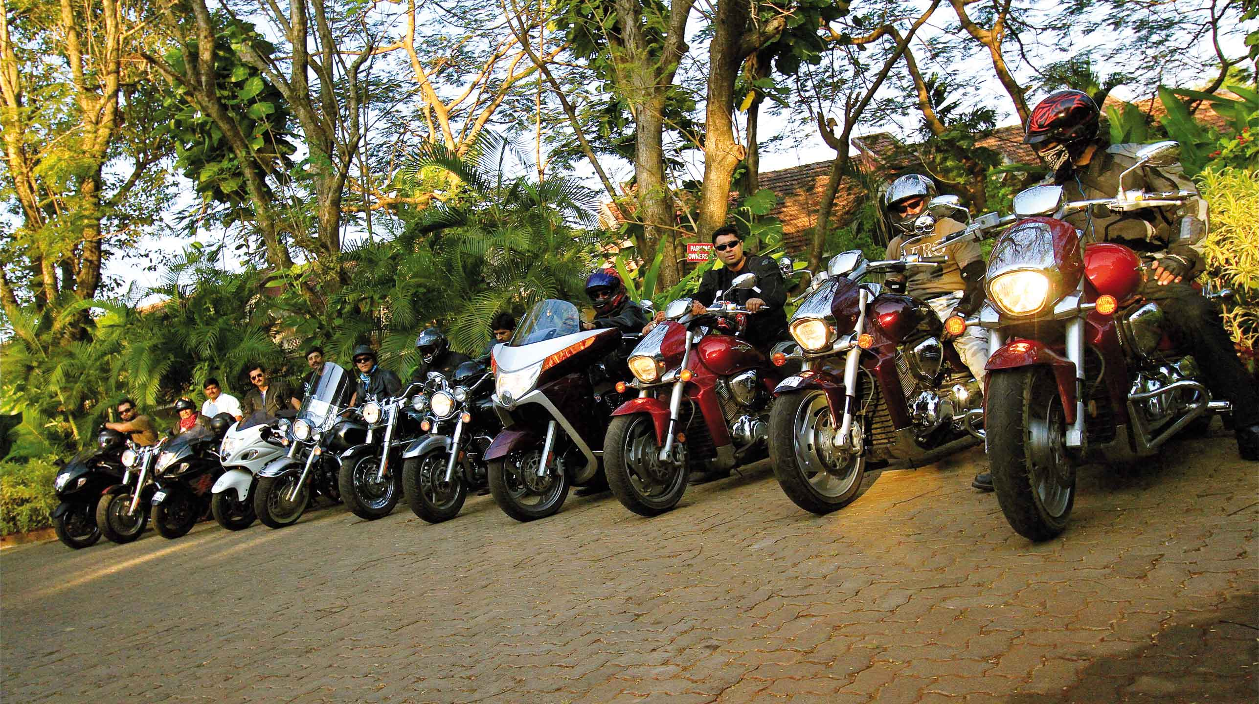 Indie z motocyklowej perspektywy