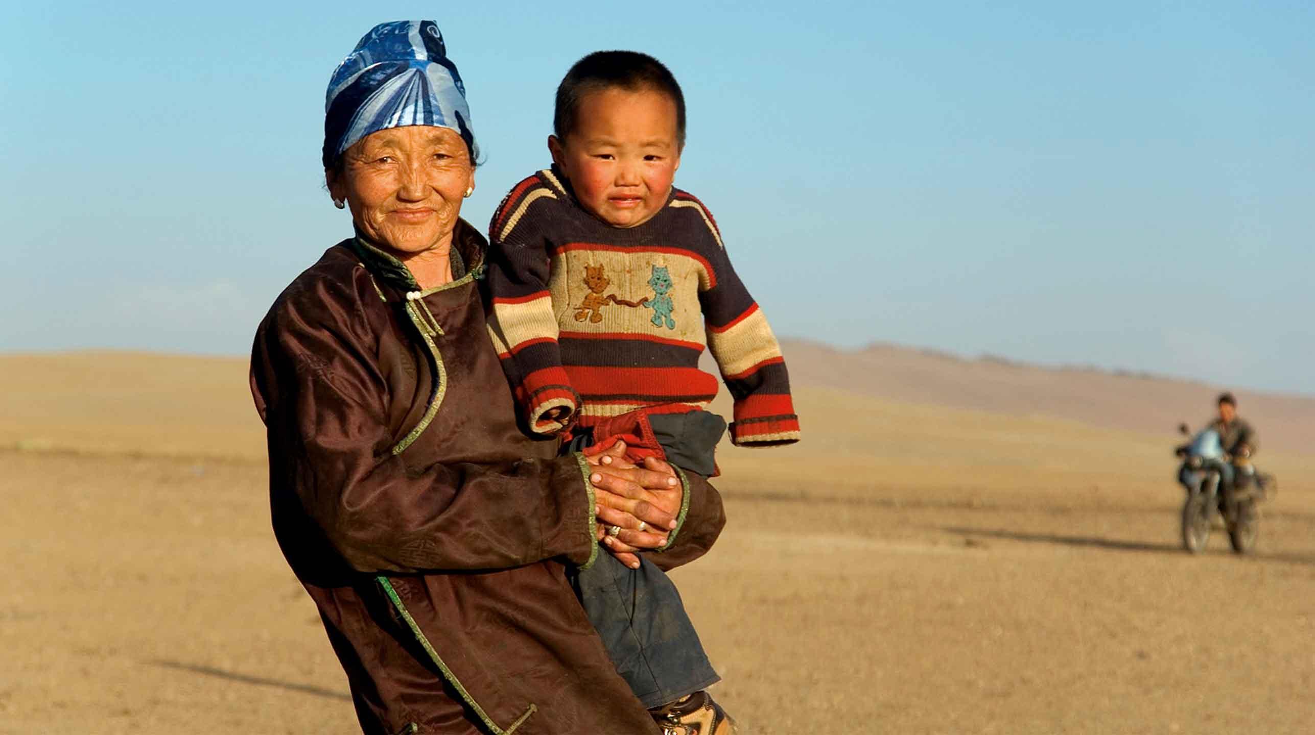 Mongolia – na motorze