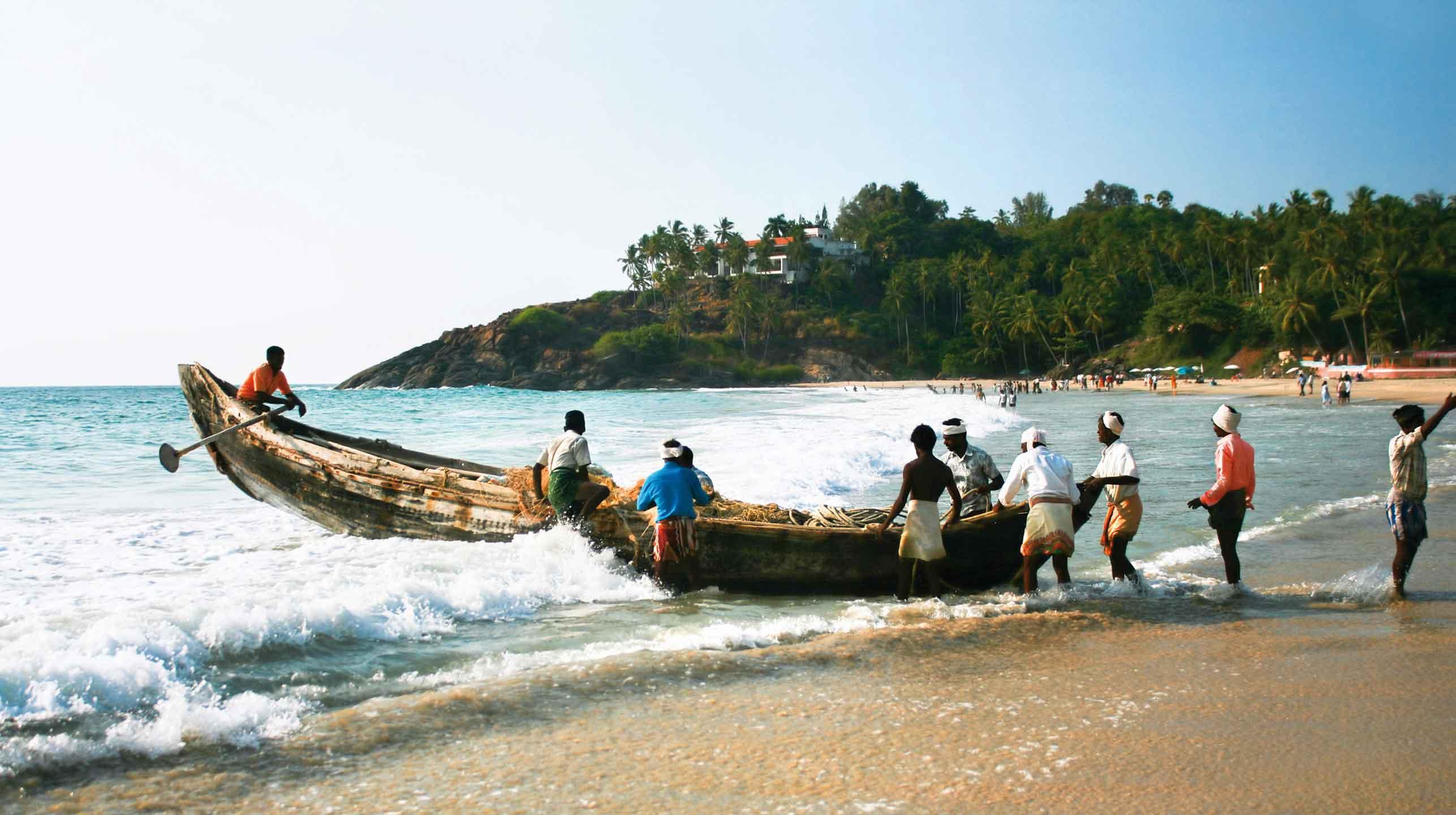 Indie – Kerala, kokosowa kraina