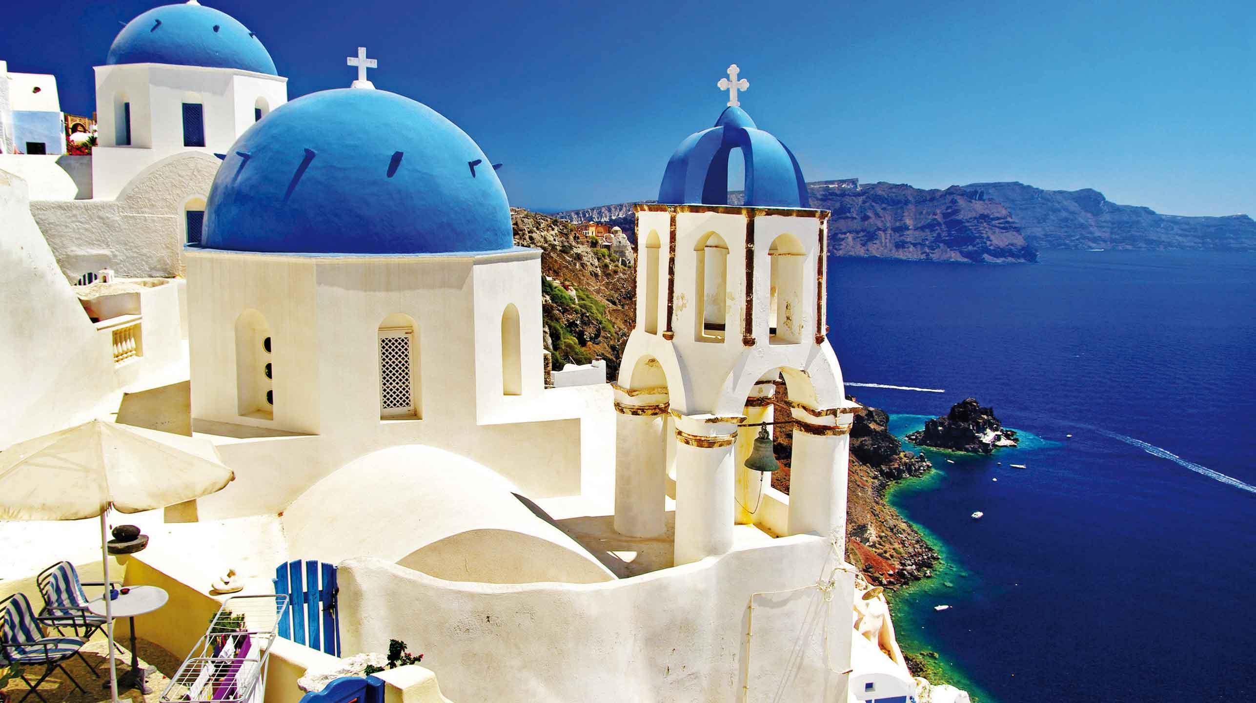 Grecja – nieziemska Santorini