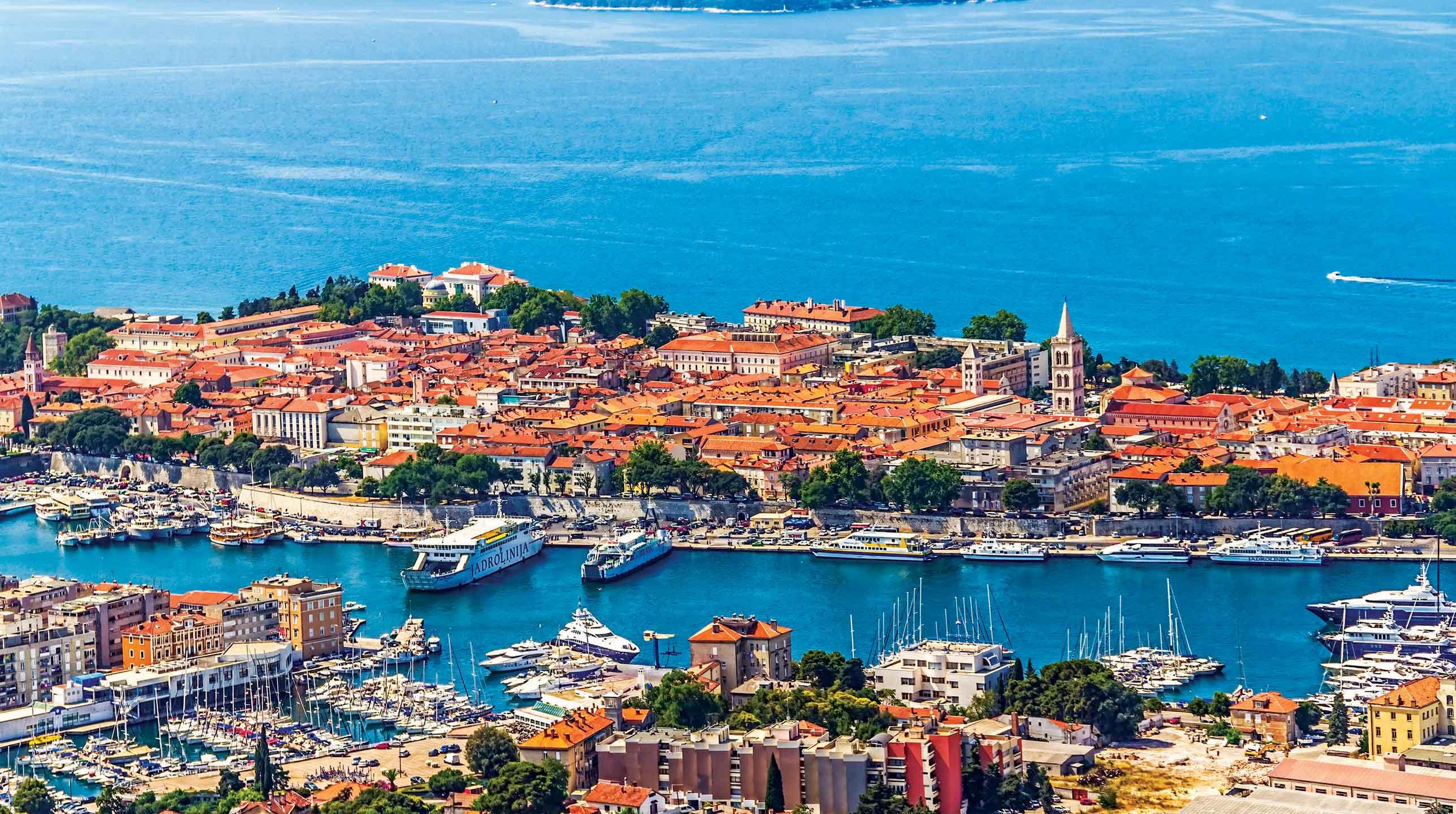Chorwacja – Zadar od nawietrznej