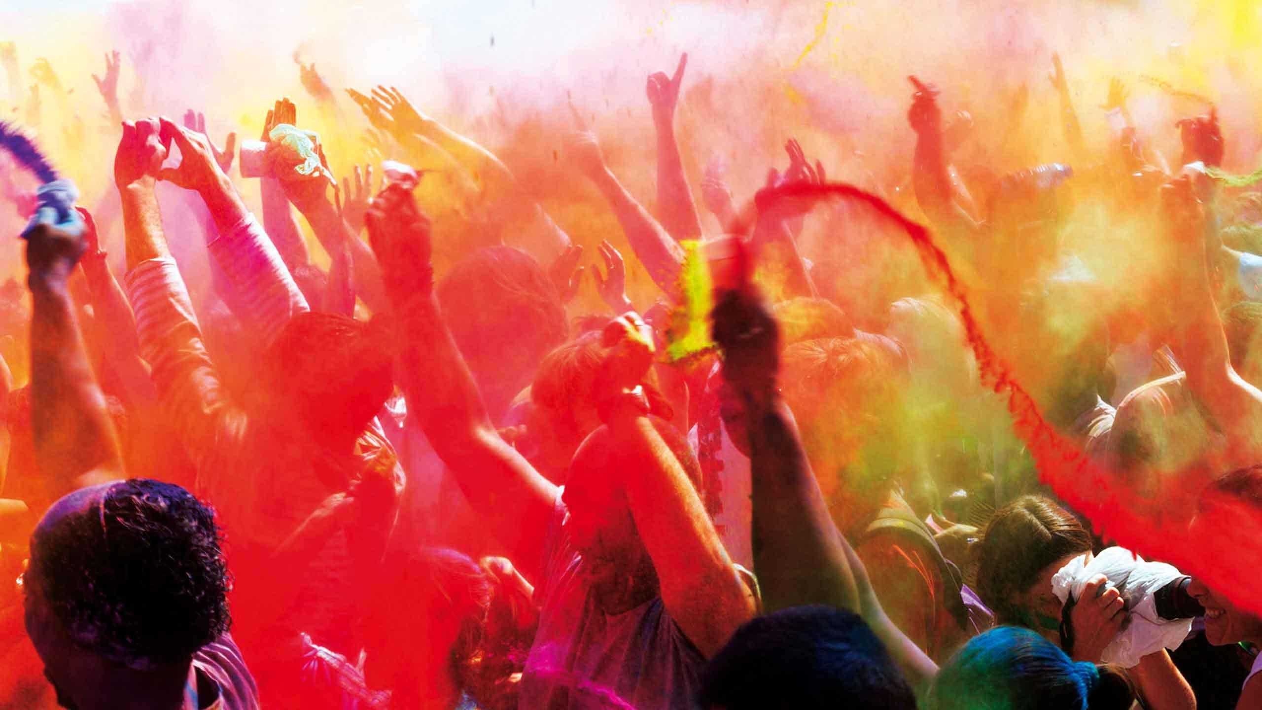 Indie – festiwal Holi