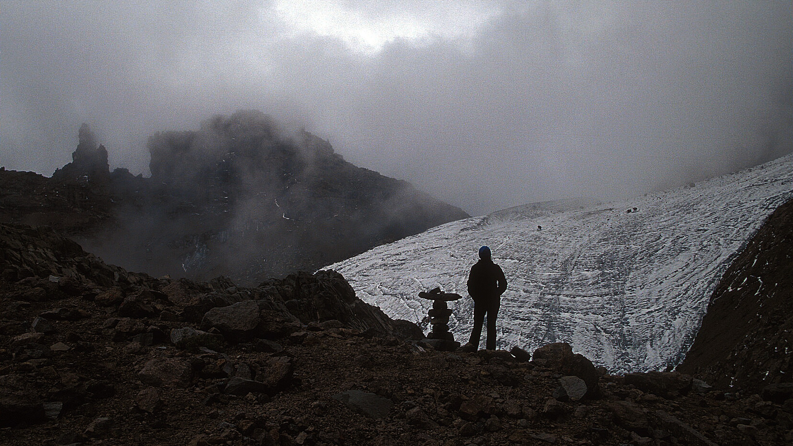 Kenia – lodowiec Lewisa na Mt Kenya