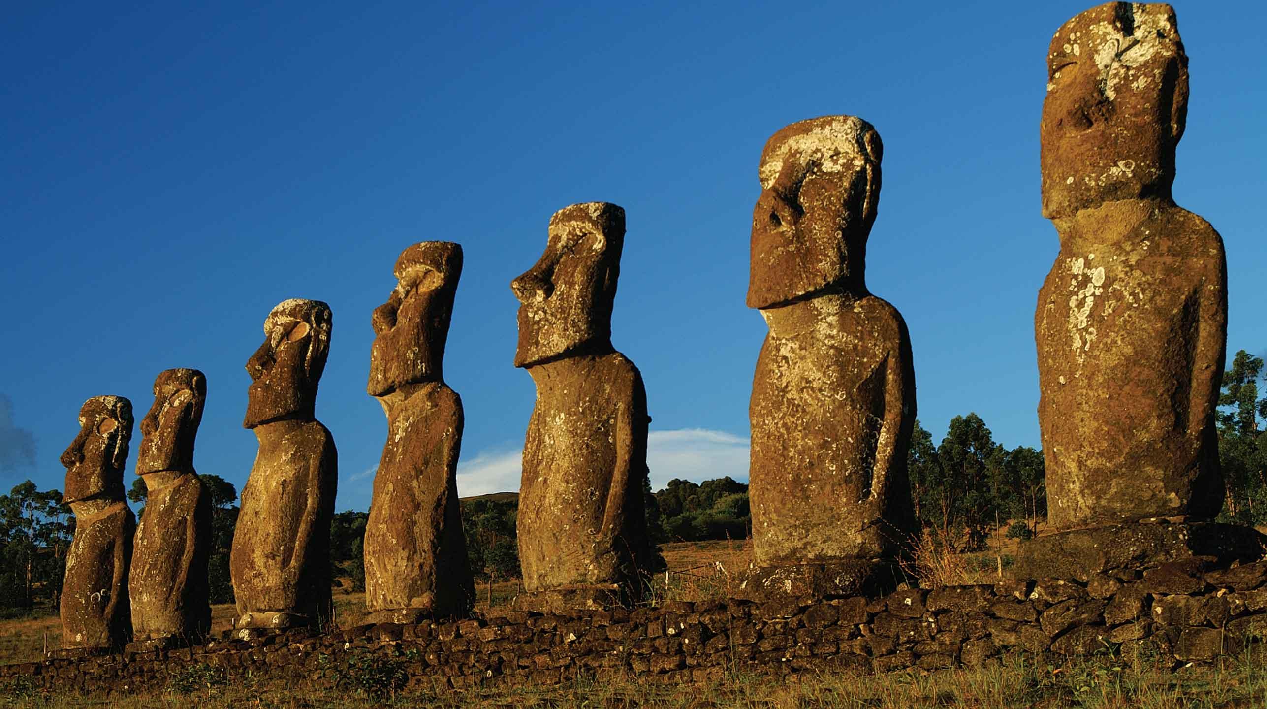 Polinezja – kolosy z Rapa Nui