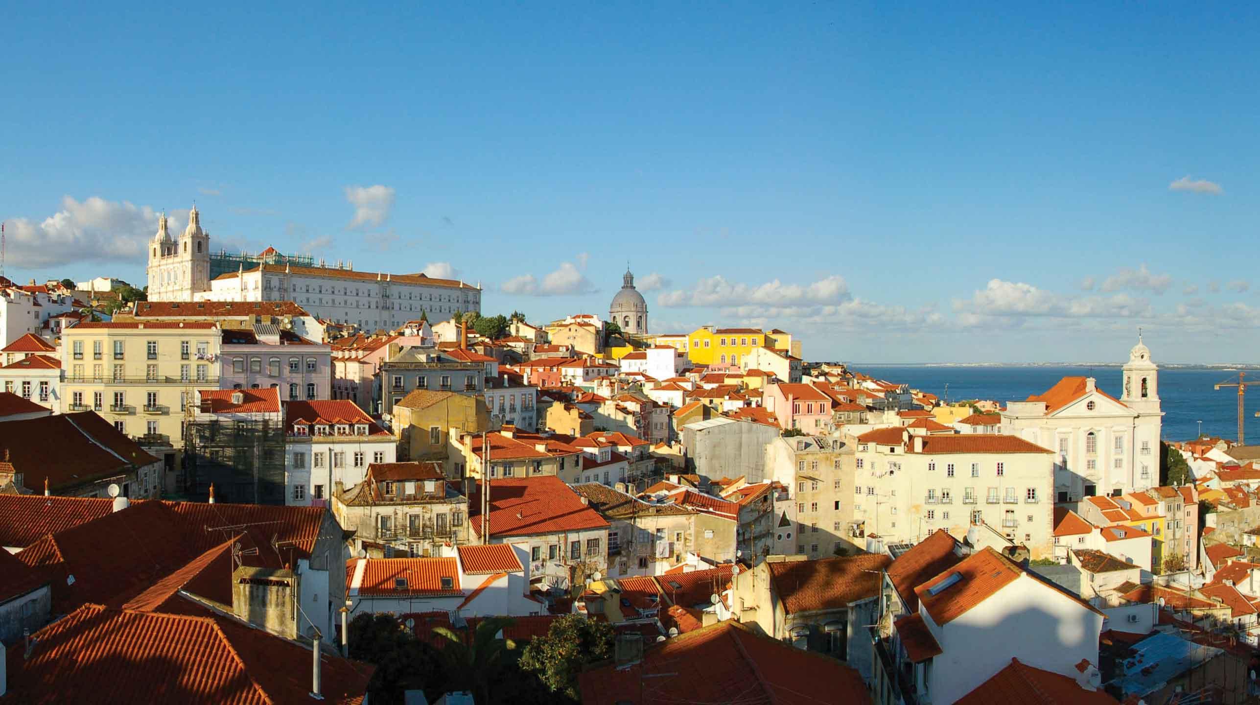 Portugalia – Lizbona, windą nad ocean