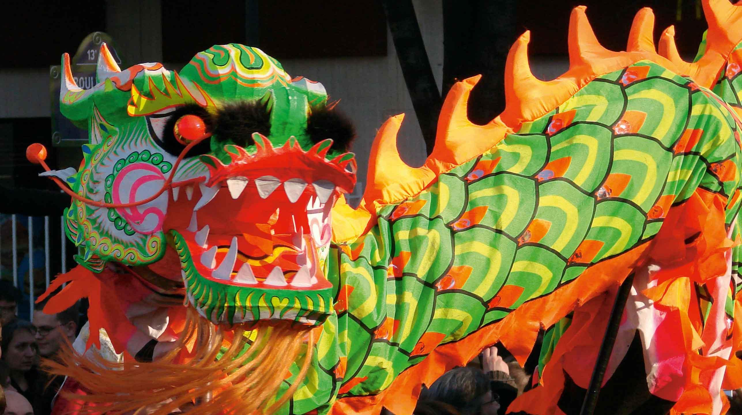 Chiny – Nowy Rok w Hongkongu