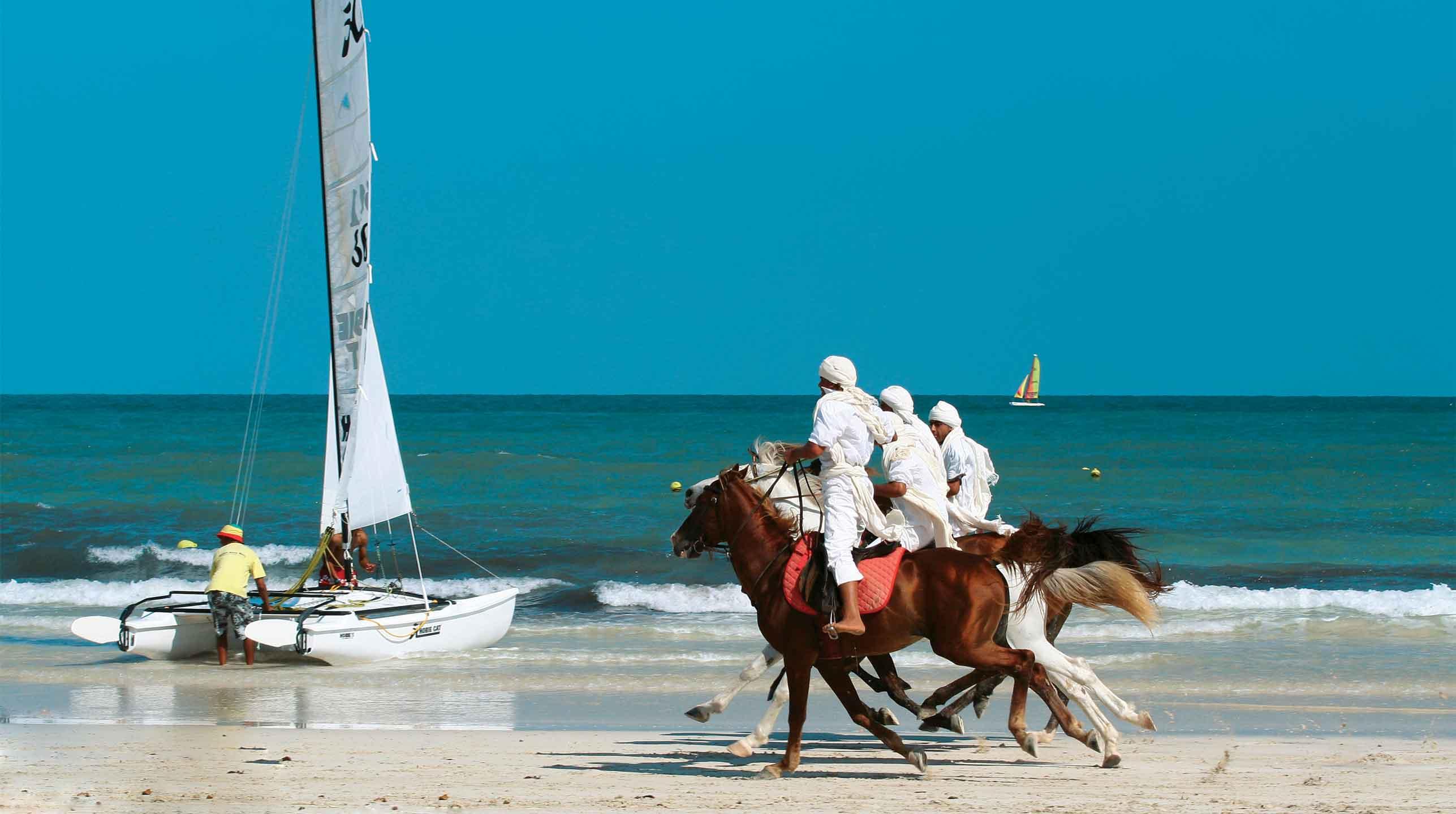 Na piaskach Tunezji