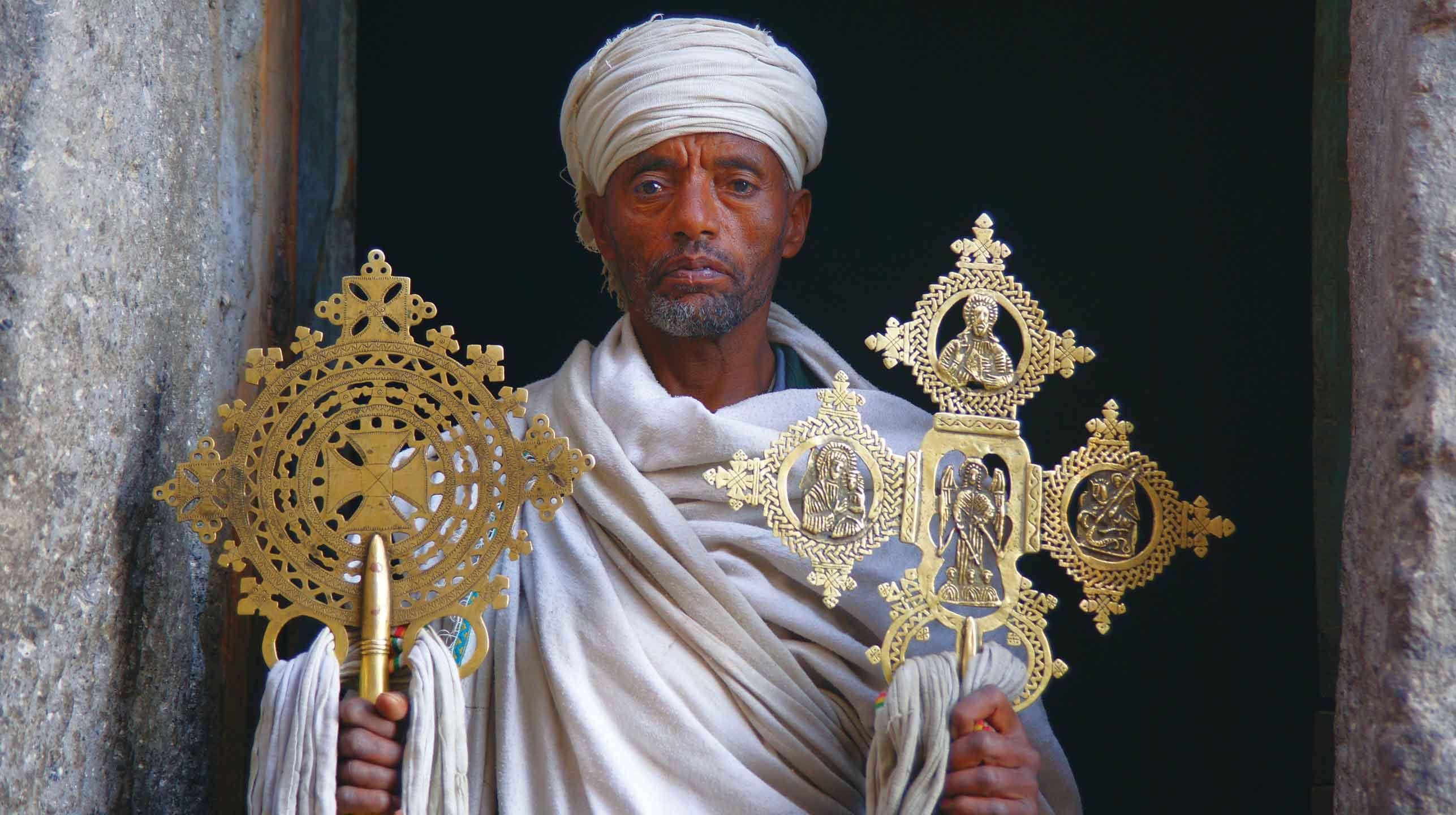 Etiopia pod krzyżem i Gwiazdą Dawida