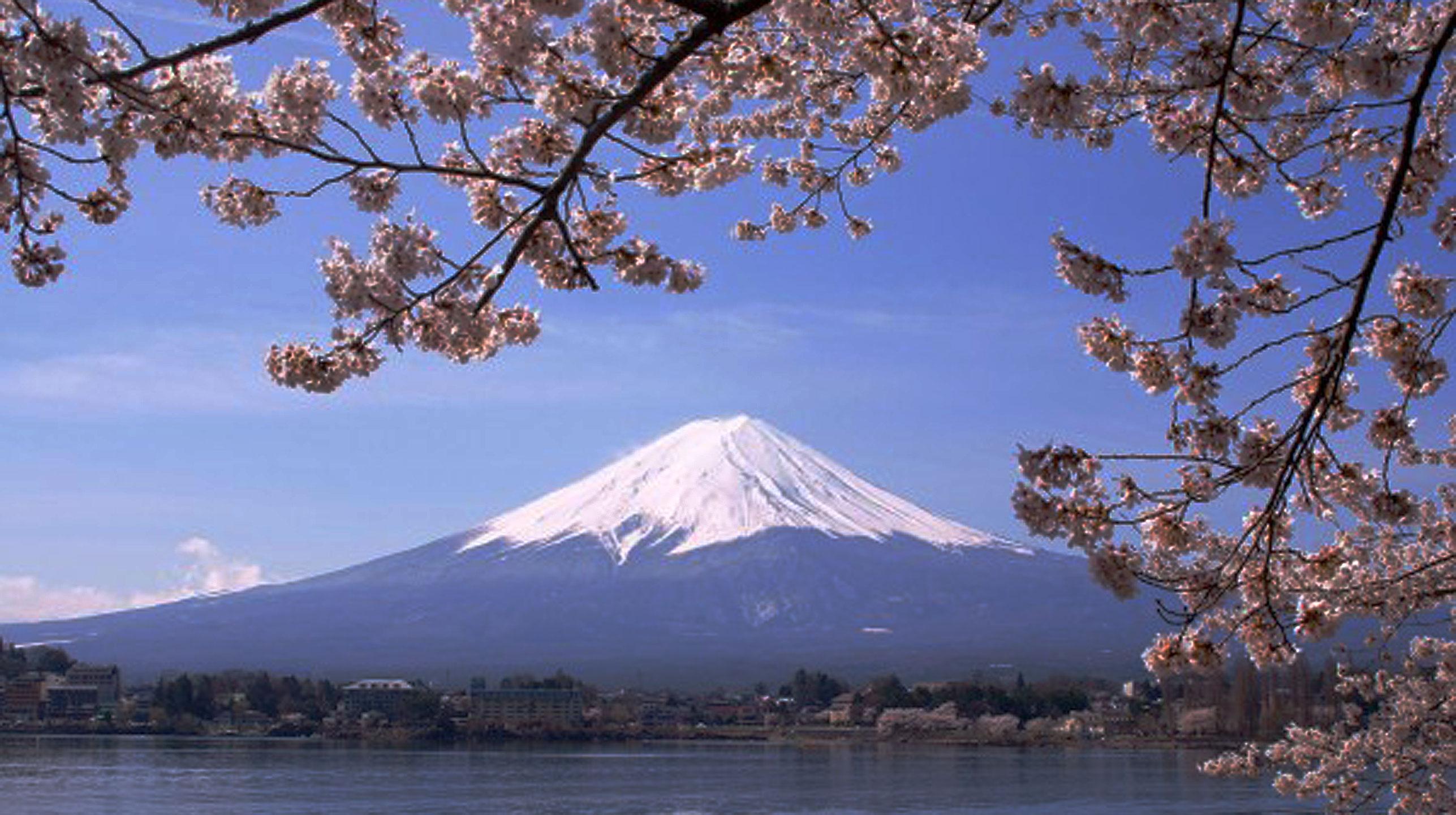 Japonia – wi-fi free na Fudżijamie