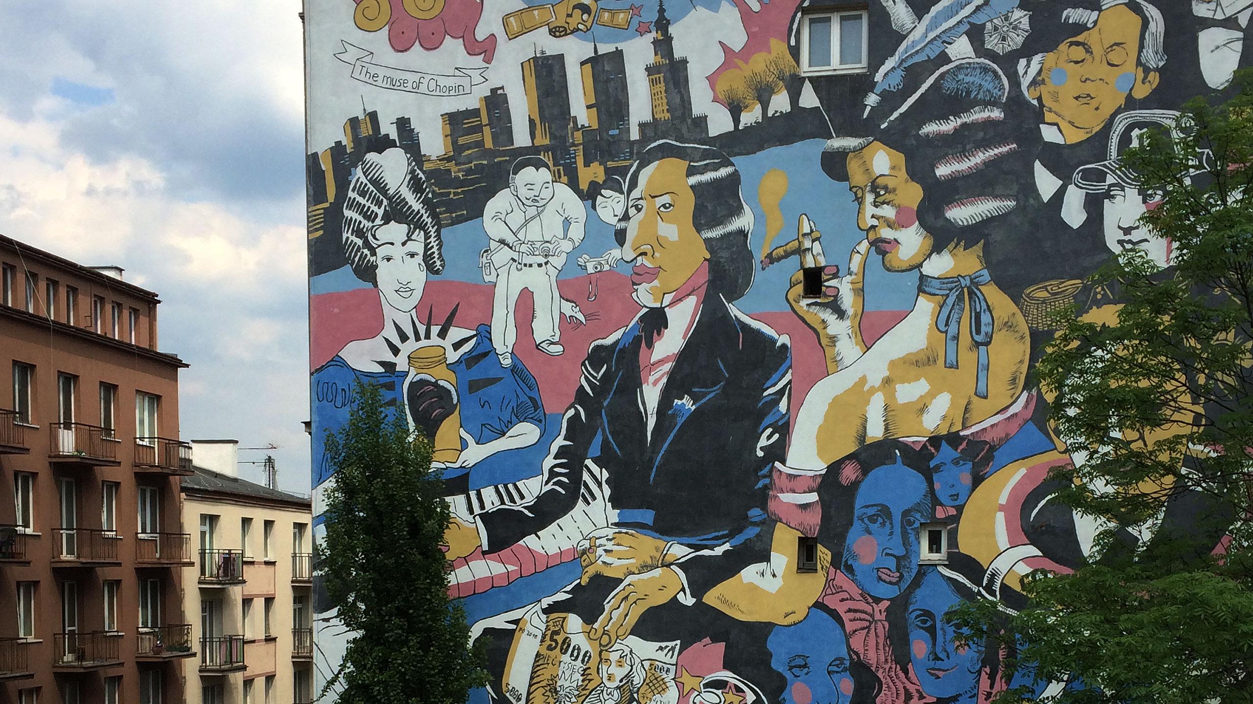 Nobilitowane warszawskie murale
