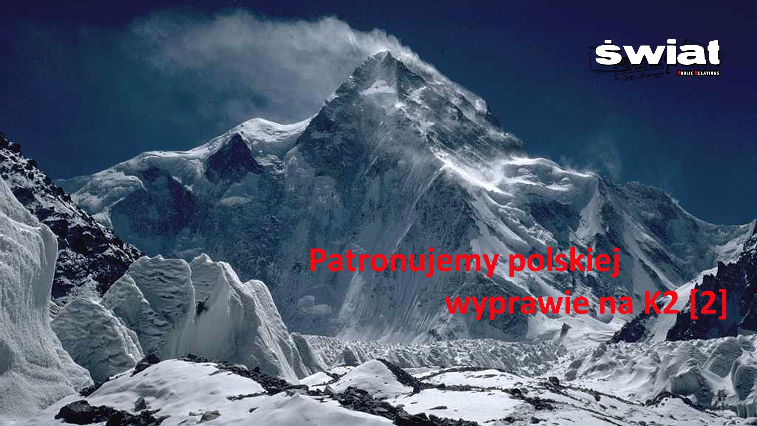 Patronujemy polskiej wyprawie K2 '2016/17 [2]