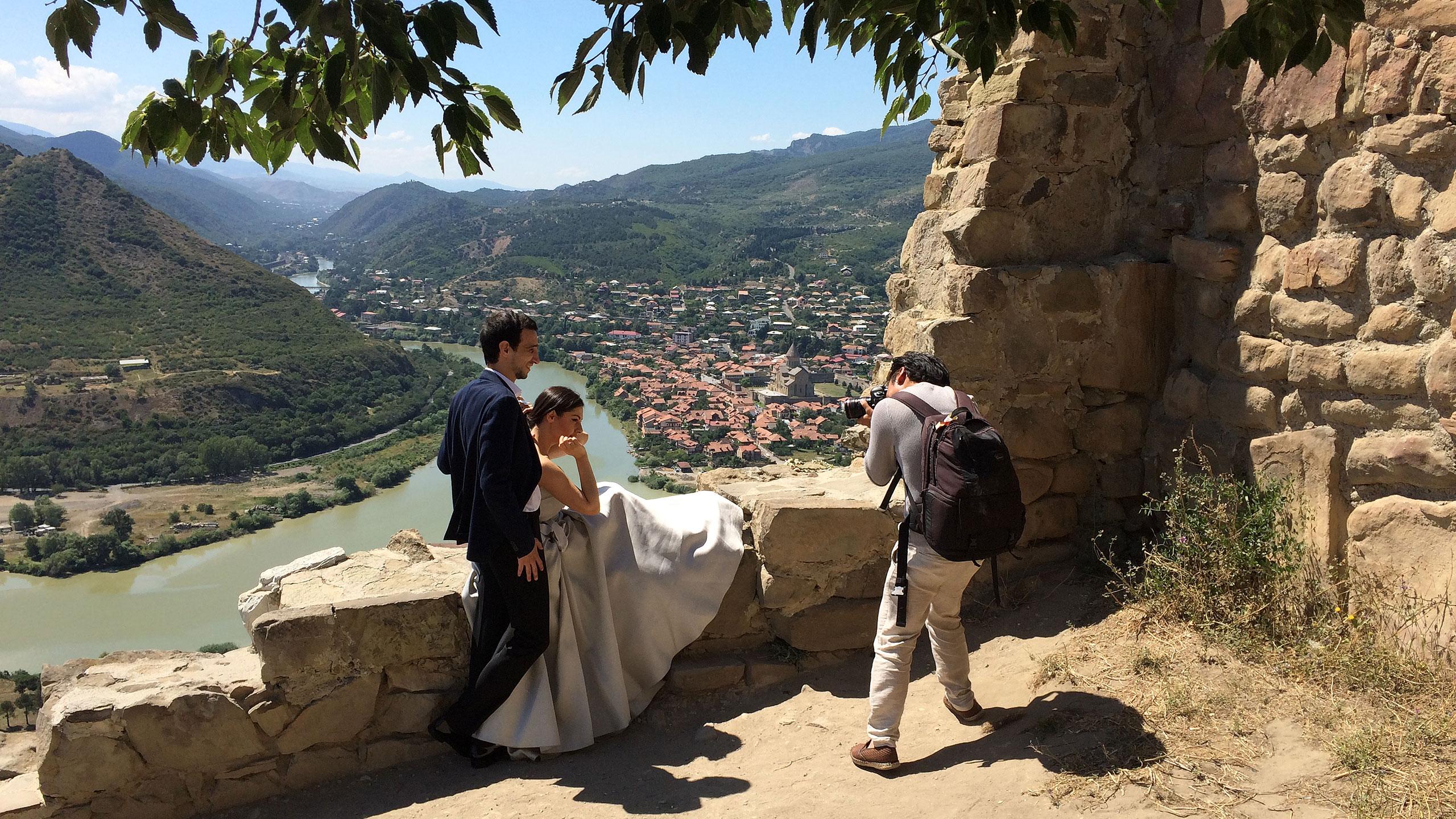 Gruzja – ślub za ślubem