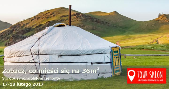 Oryginalna mongolska jurta na TOUR SALONIE