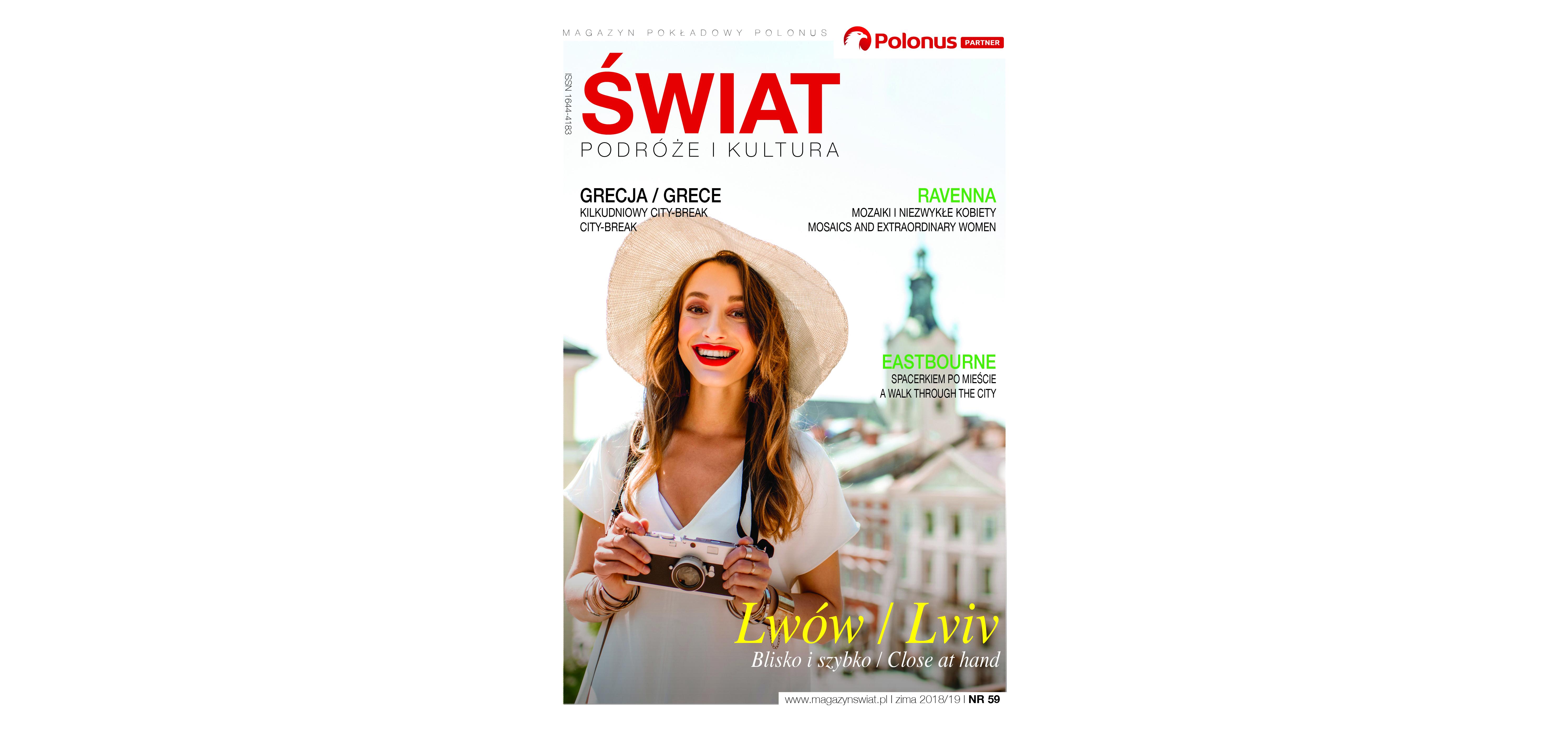 Magazyn Świat Podróże Kultura /ZIMA 2018/19/