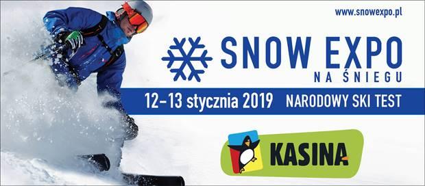 """""""NARODOWY SKI TEST 2019"""" – pierwsza edycja """"SNOW EXPO na śniegu"""" w Kasina SKI."""