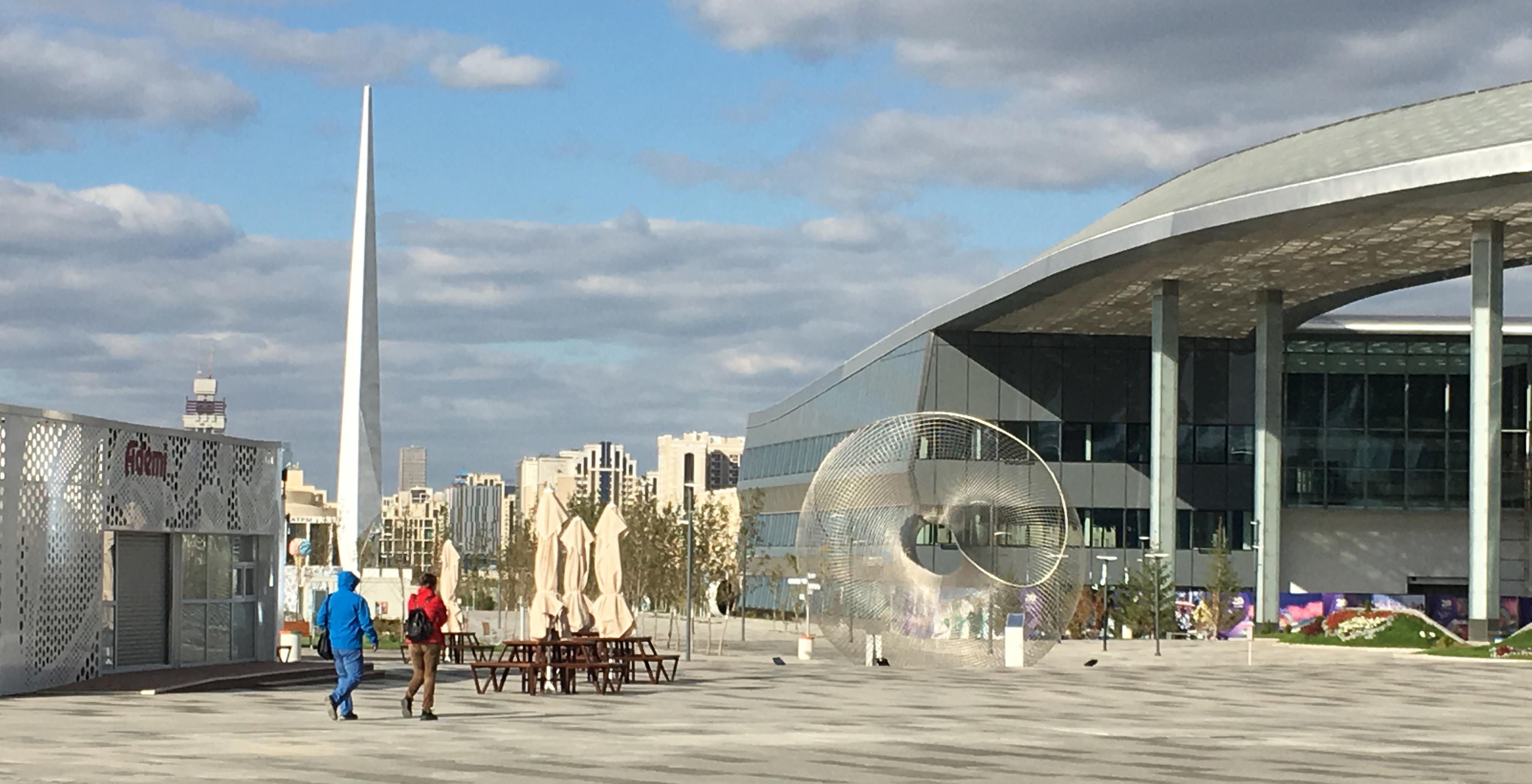 Astana – Sztuka na każdym rogu stolicy