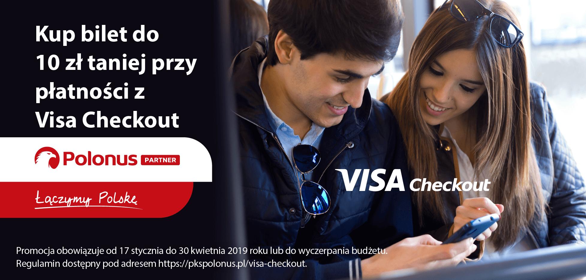 10 000 biletów do 10 zł taniej z Visa Checkout. Polonus Partner rozpoczyna współpracę z Visa
